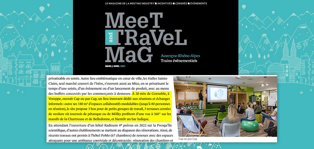 On parle de nous dans Meet and Travel Mag !